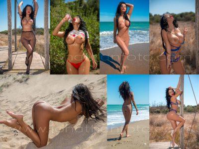 Fotos en playa - Fotografo para escorts en Valencia jonathanfoto