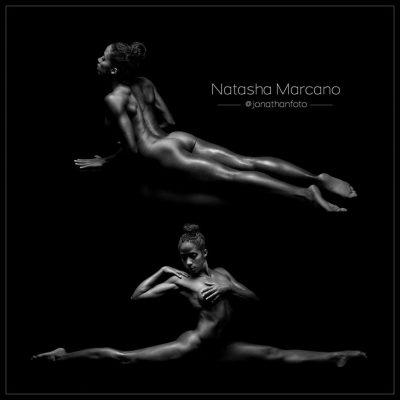 Tasha fotos tipo exposicion con su flexible cuerpo desnudo en Valencia jonathanfoto