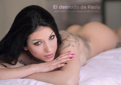 Foto realizada en Valencia portada de Paola desnuda en nuestro reportaje como fotógrafo